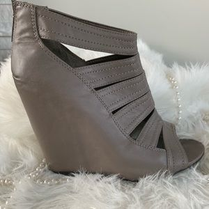 BAMBOO wedges - Size 7 1/2